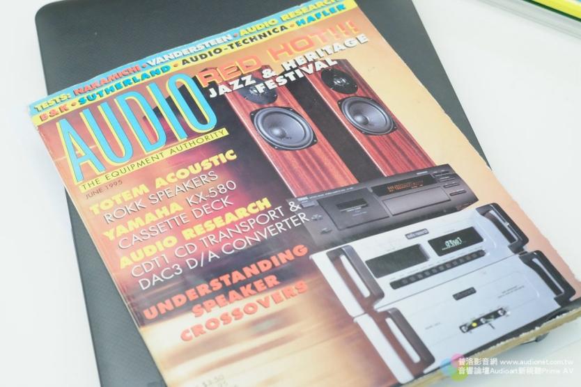 這就是Antoine找到的1995年出刊Audio雜誌,封面有Audio Research數位訊源。