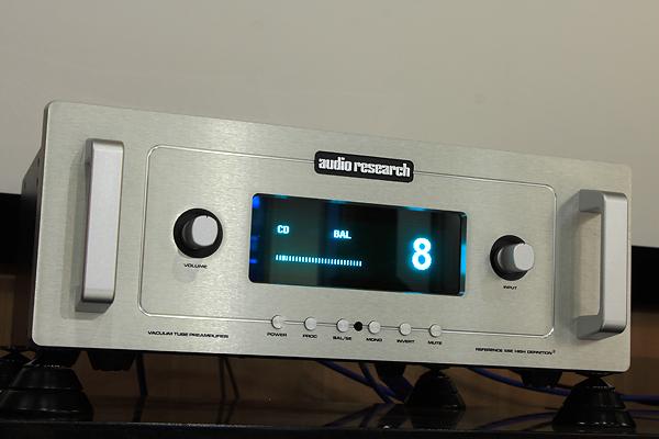 Audio Research Reference 5 SE前級擴大機。