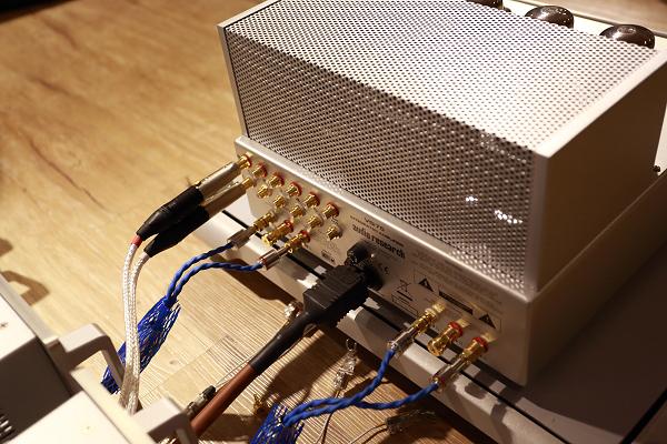 現場搭配的線材包括Siltech與Crystal Cable,都是一時之選。