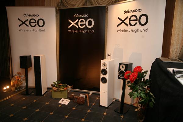 Dynaudio的XEO系列無線傳輸喇叭當然也是不可錯過的重點囉。